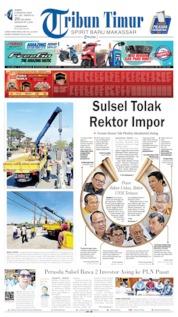 Tribun Timur Cover 09 August 2019