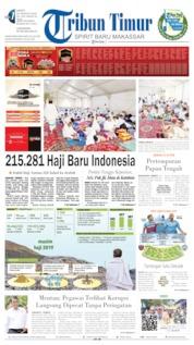 Tribun Timur Cover 10 August 2019
