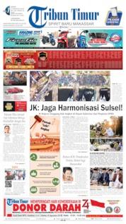 Tribun Timur Cover 12 August 2019