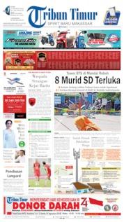 Tribun Timur Cover 14 August 2019