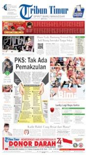 Tribun Timur Cover 15 August 2019