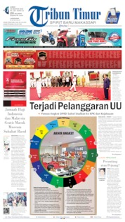 Cover Tribun Timur 16 Agustus 2019