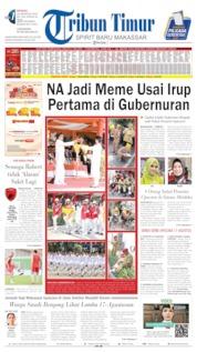 Cover Tribun Timur 18 Agustus 2019
