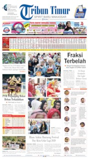 Tribun Timur Cover 19 August 2019