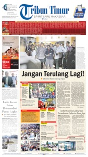 Tribun Timur Cover 20 August 2019
