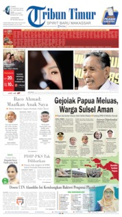 Cover Tribun Timur 22 Agustus 2019