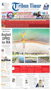 Tribun Timur Cover 23 August 2019