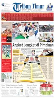 Cover Tribun Timur 24 Agustus 2019