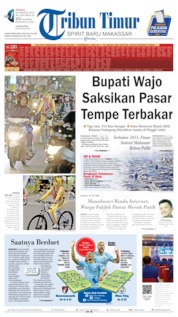 Tribun Timur Cover 25 August 2019