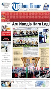 Cover Tribun Timur 10 September 2019