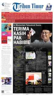 Cover Tribun Timur 12 September 2019