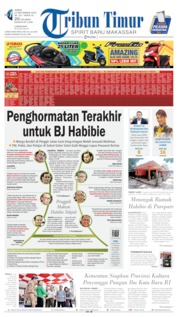 Cover Tribun Timur 13 September 2019