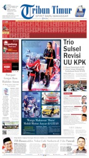 Cover Tribun Timur 14 September 2019