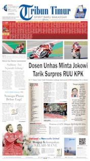 Cover Tribun Timur 15 September 2019