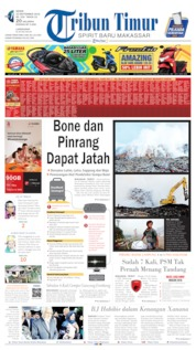 Cover Tribun Timur 16 September 2019