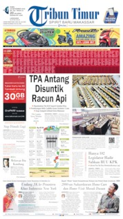 Cover Tribun Timur 18 September 2019