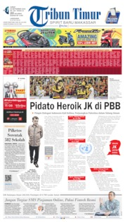 Cover Tribun Timur 20 September 2019