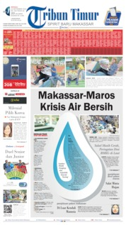 Cover Tribun Timur 22 September 2019