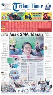 Tribun Timur Cover 27 September 2019