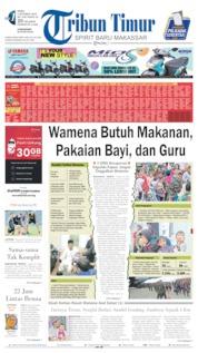 Tribun Timur Cover 02 October 2019