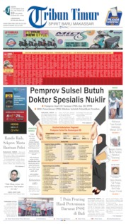 Tribun Timur Cover 14 October 2019