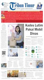 Tribun Timur Cover 15 October 2019