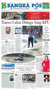 Cover Bangka Pos 26 Februari 2018