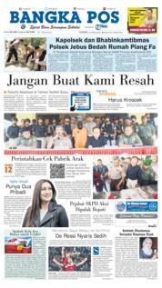 Cover Bangka Pos 12 April 2018