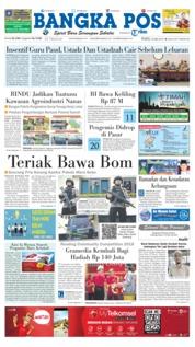 Cover Bangka Pos 23 Mei 2018