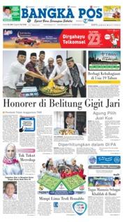 Cover Bangka Pos 26 Mei 2018