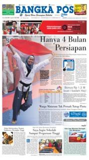 Cover Bangka Pos 20 Agustus 2018