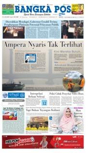 Cover Bangka Pos 17 September 2018