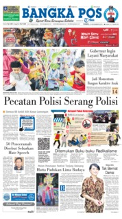 Cover Bangka Pos 21 November 2018