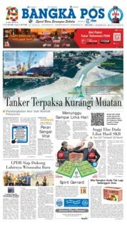 Cover Bangka Pos 11 Desember 2018