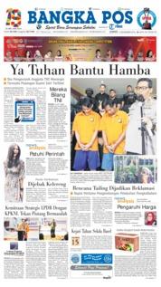 Cover Bangka Pos 14 Desember 2018
