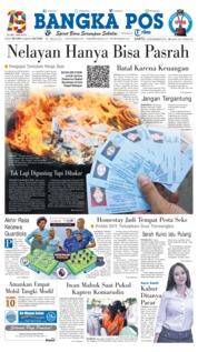 Cover Bangka Pos 15 Desember 2018