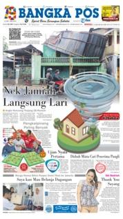 Cover Bangka Pos 13 Januari 2019