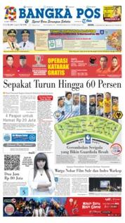 Cover Bangka Pos 14 Januari 2019