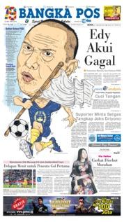 Cover Bangka Pos 21 Januari 2019