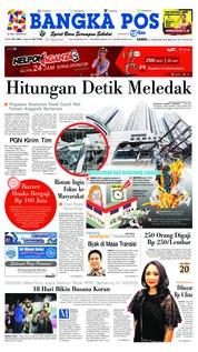 Cover Bangka Pos 21 Februari 2019