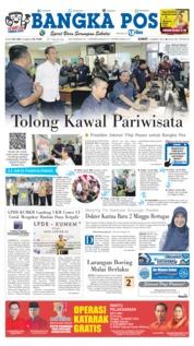 Cover Bangka Pos 15 Maret 2019