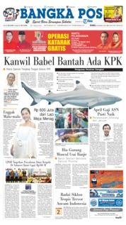 Cover Bangka Pos 20 Maret 2019