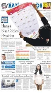 Cover Bangka Pos 23 Maret 2019