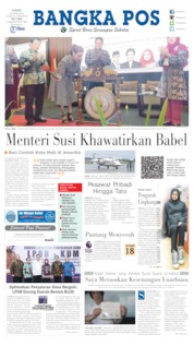 Cover Bangka Pos 26 April 2019