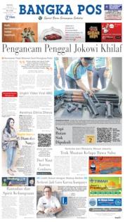 Bangka Pos Cover 13 May 2019
