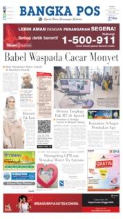 Bangka Pos Cover 15 May 2019