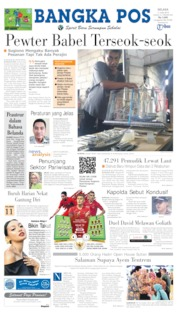 Cover Bangka Pos 11 Juni 2019