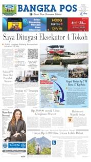 Cover Bangka Pos 12 Juni 2019