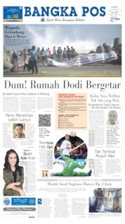 Cover Bangka Pos 13 Juni 2019