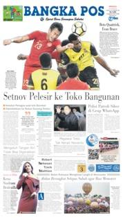 Cover Bangka Pos 16 Juni 2019